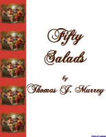 50 Salads For Good Health Free Ebook Compliments Of The Author of the Old-Fashioned Regency Romance novel, A Very Merry Chase