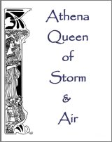 Athena, Queen of Storm and Air, A Free Ebook, Compliments Of The Author of the Old-Fashioned Regency Romance novel, A Very Merry Chase