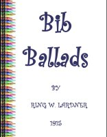 Old Fashioned Bib Ballads For Young Children, A Free Ebook, Compliments Of The Author of the Old-Fashioned Regency Romance novel, A Very Merry Chase