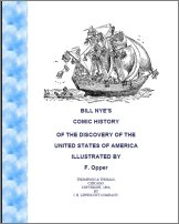 Comic History of the Discovery of America, A Free Ebook, Compliments Of The Author of the Old-Fashioned Regency Romance novel, A Very Merry Chase