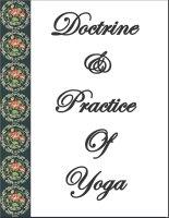 Doctrine And Practice Of Yoga, A Free Ebook, Compliments Of The Author of the Old-Fashioned Regency Romance novel, A Very Merry Chase